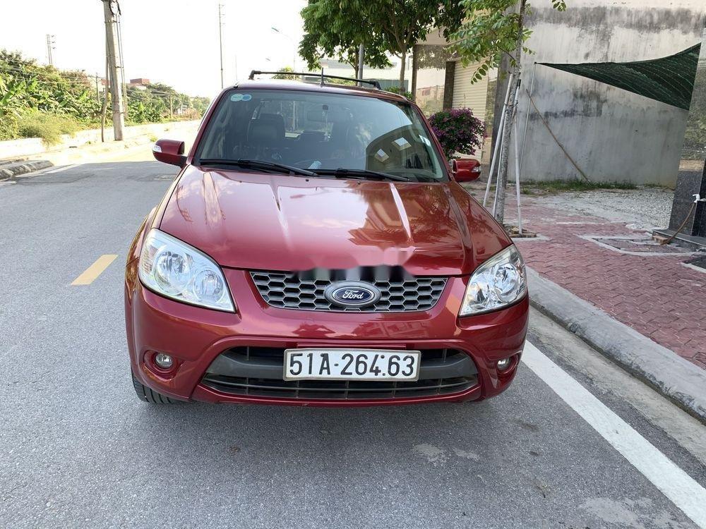 Bán Ford Escape 2011, màu đỏ, nhập khẩu số tự động, giá tốt (1)