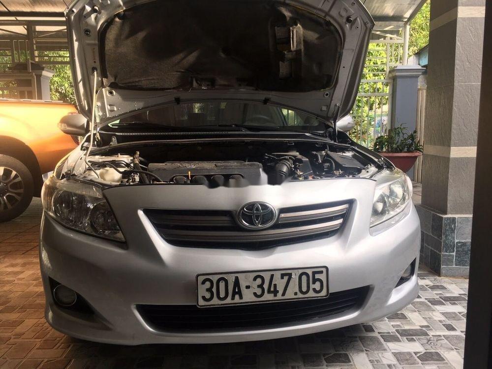 Bán ô tô Toyota Vios 1.8J sản xuất năm 2010, màu bạc, xe nhập số tự động (1)
