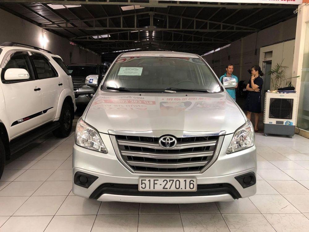 Cần bán Toyota Innova sản xuất năm 2015, màu bạc, nhập khẩu xe gia đình, giá chỉ 580 triệu (1)