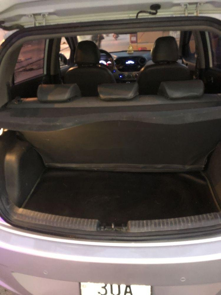 Bán Hyundai Grand i10 đời 2014, màu bạc, nhập khẩu nguyên chiếc, giá tốt (6)