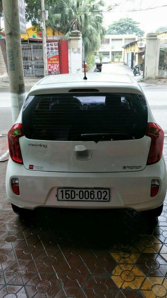 Bán xe Kia Morning 1.0AT sản xuất năm 2011, màu trắng, nhập khẩu, giá tốt (1)