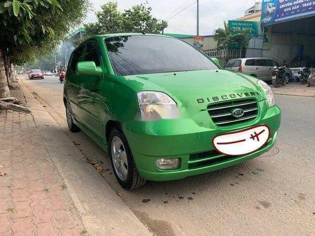 Bán Kia Picanto AT năm 2007, màu xanh lam, xe nhập số tự động (2)