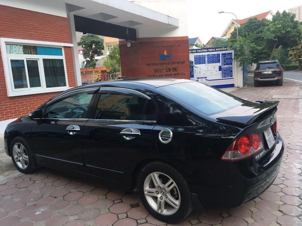 Bán xe Honda Civic năm sản xuất 2007, màu đen, nhập khẩu nguyên chiếc chính chủ, giá tốt (6)