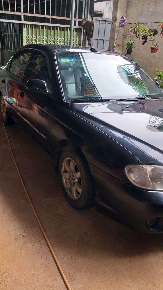 Bán Kia Spectra 2004, màu đen, nhập khẩu, giá tốt (5)