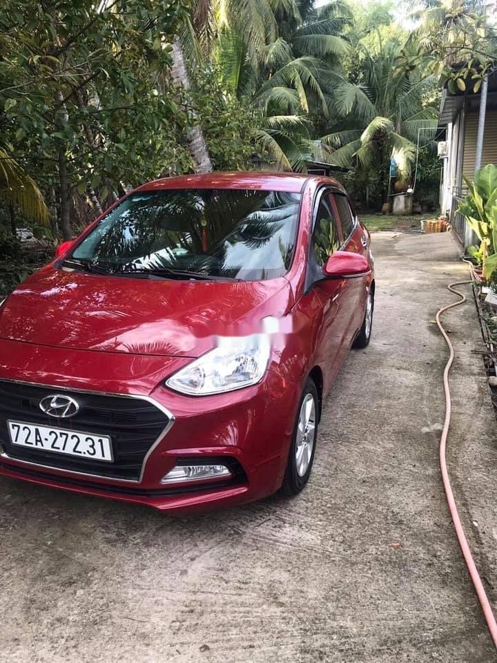 Bán ô tô Hyundai Grand i10 sản xuất năm 2018, màu đỏ, xe nhập chính hãng (6)