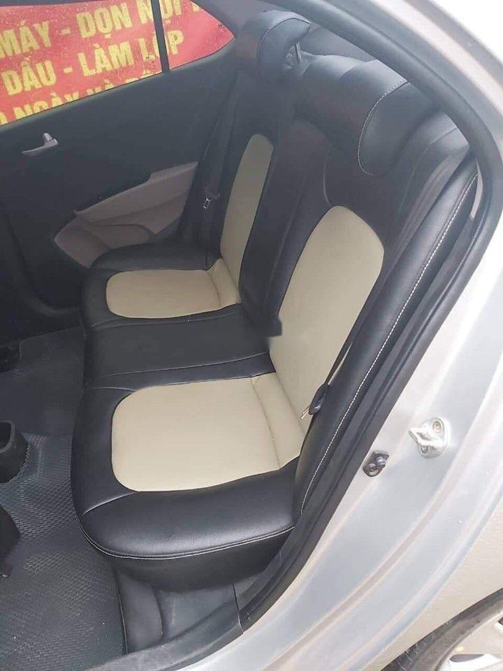 Bán Hyundai Grand i10 MT đời 2017, màu bạc, giá tốt (3)