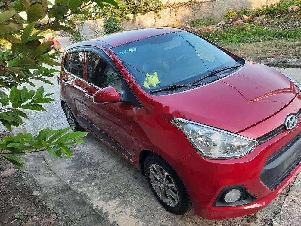 Bán xe Hyundai Grand i10 2015, màu đỏ, nhập khẩu chính hãng (1)