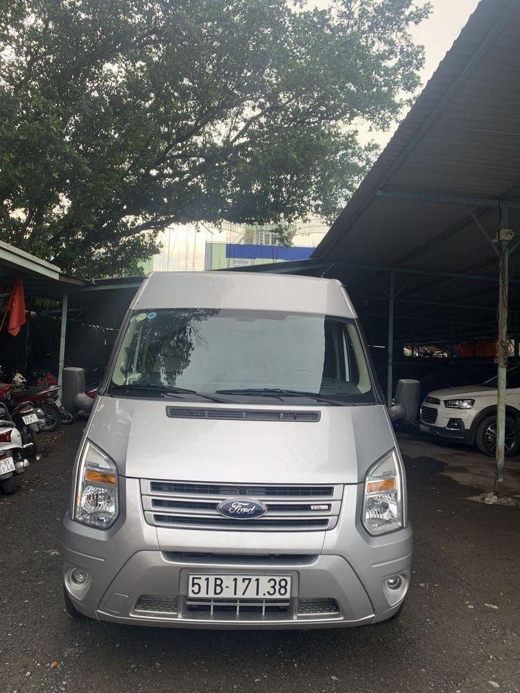 Cần bán Ford Transit đời 2014, màu bạc (2)
