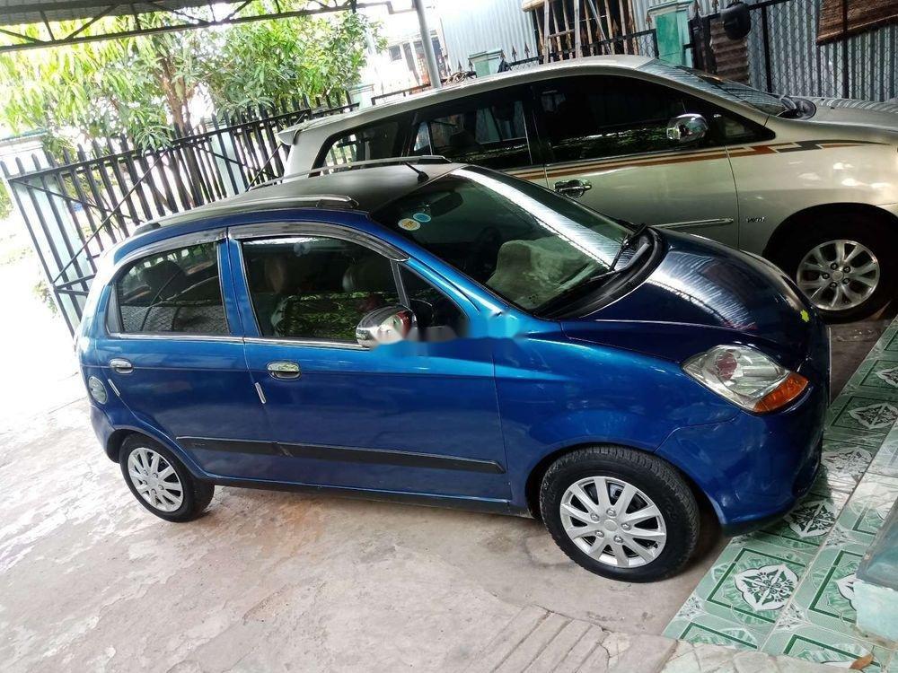 Bán Chevrolet Spark sản xuất 2009, màu xanh lục chính chủ  (5)