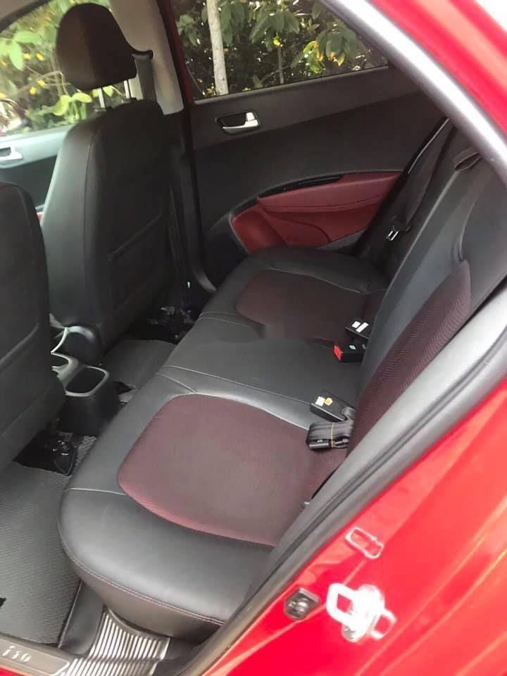 Bán ô tô Hyundai Grand i10 sản xuất năm 2018, màu đỏ, xe nhập chính hãng (4)