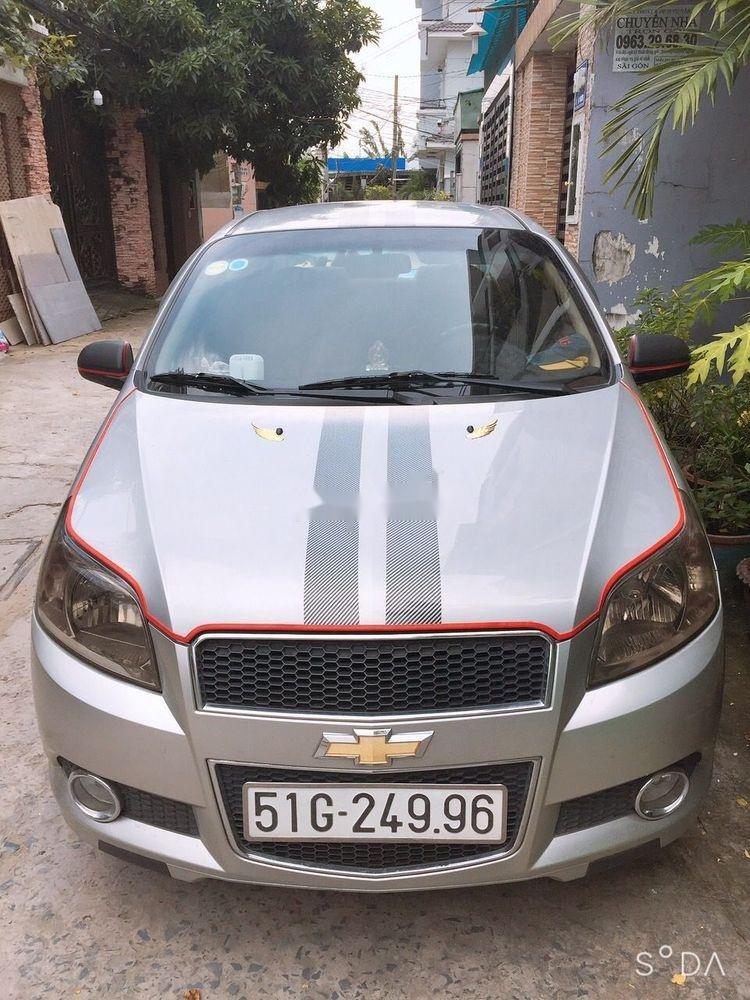 Cần bán Chevrolet Aveo đời 2016, màu bạc (1)