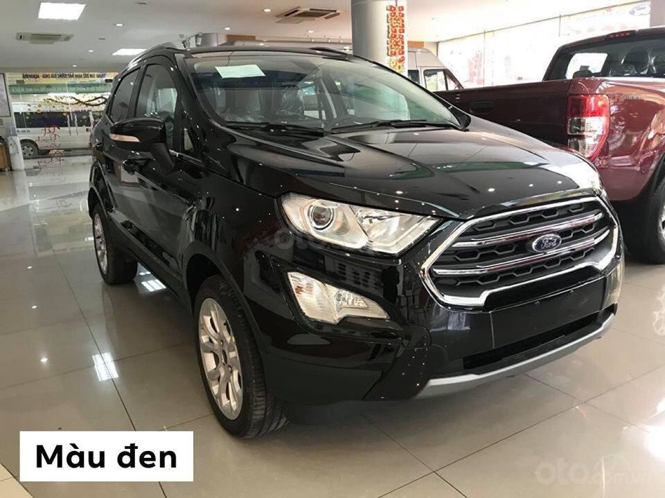 Bán Ford Everest titanium 4x2 năm sản xuất 2019, màu đen, xe nhập (1)