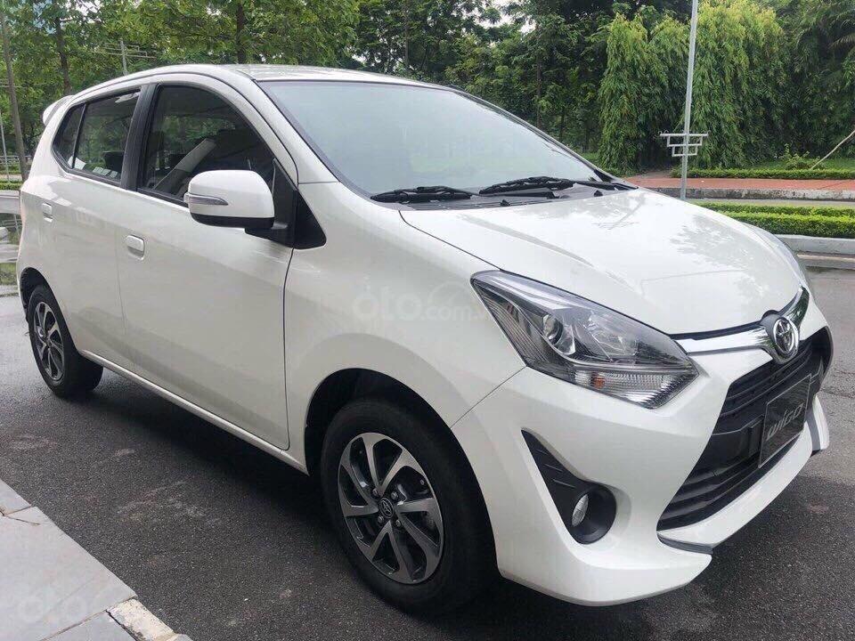 Bán xe Wigo màu trắng, số tự động, khuyến mãi lớn tháng 11 tại Toyota An Sương (2)
