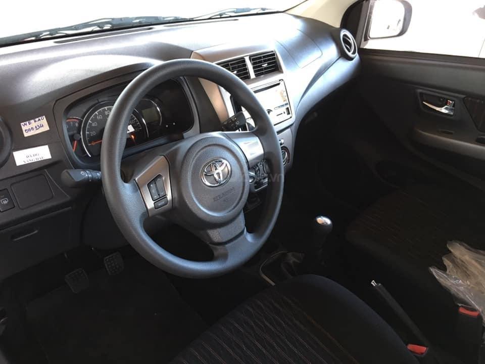 Bán xe Wigo màu trắng, số tự động, khuyến mãi lớn tháng 11 tại Toyota An Sương (5)