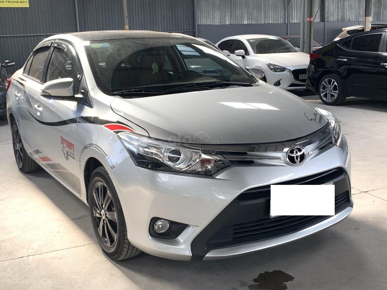 Hãng bán Toyota Vios G 1.5AT, đời 2017, màu bạc, biển Sài Gòn (1)