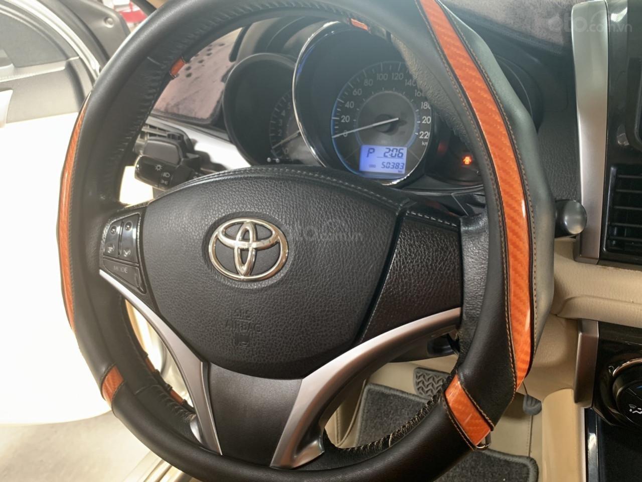Hãng bán Toyota Vios G 1.5AT, đời 2017, màu bạc, biển Sài Gòn (7)