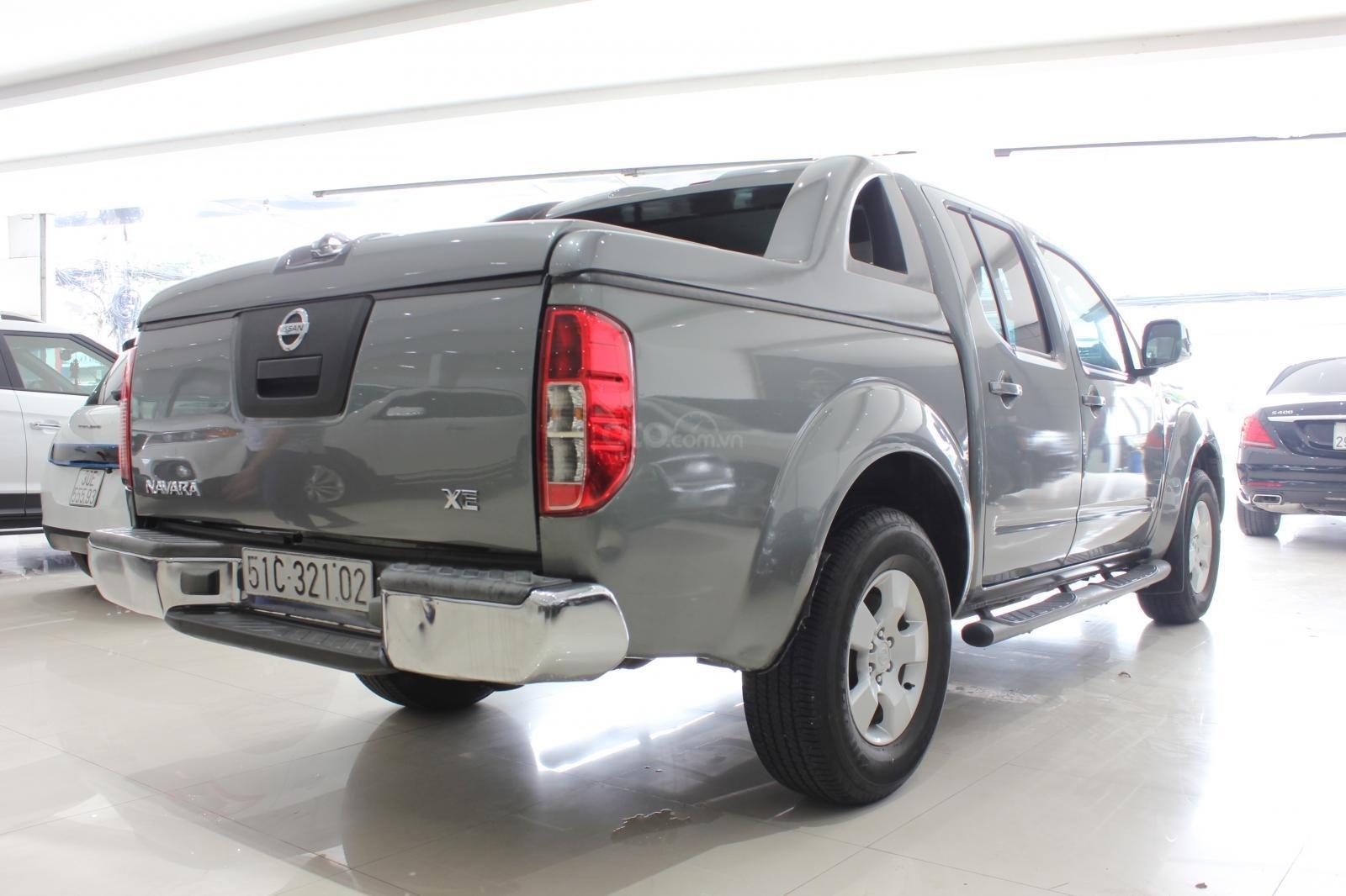 Cần bán Nissan Navara 2.5AT biển Sài Gòn nhập Thái đời 2013, màu xám (ghi), xe nhập (5)
