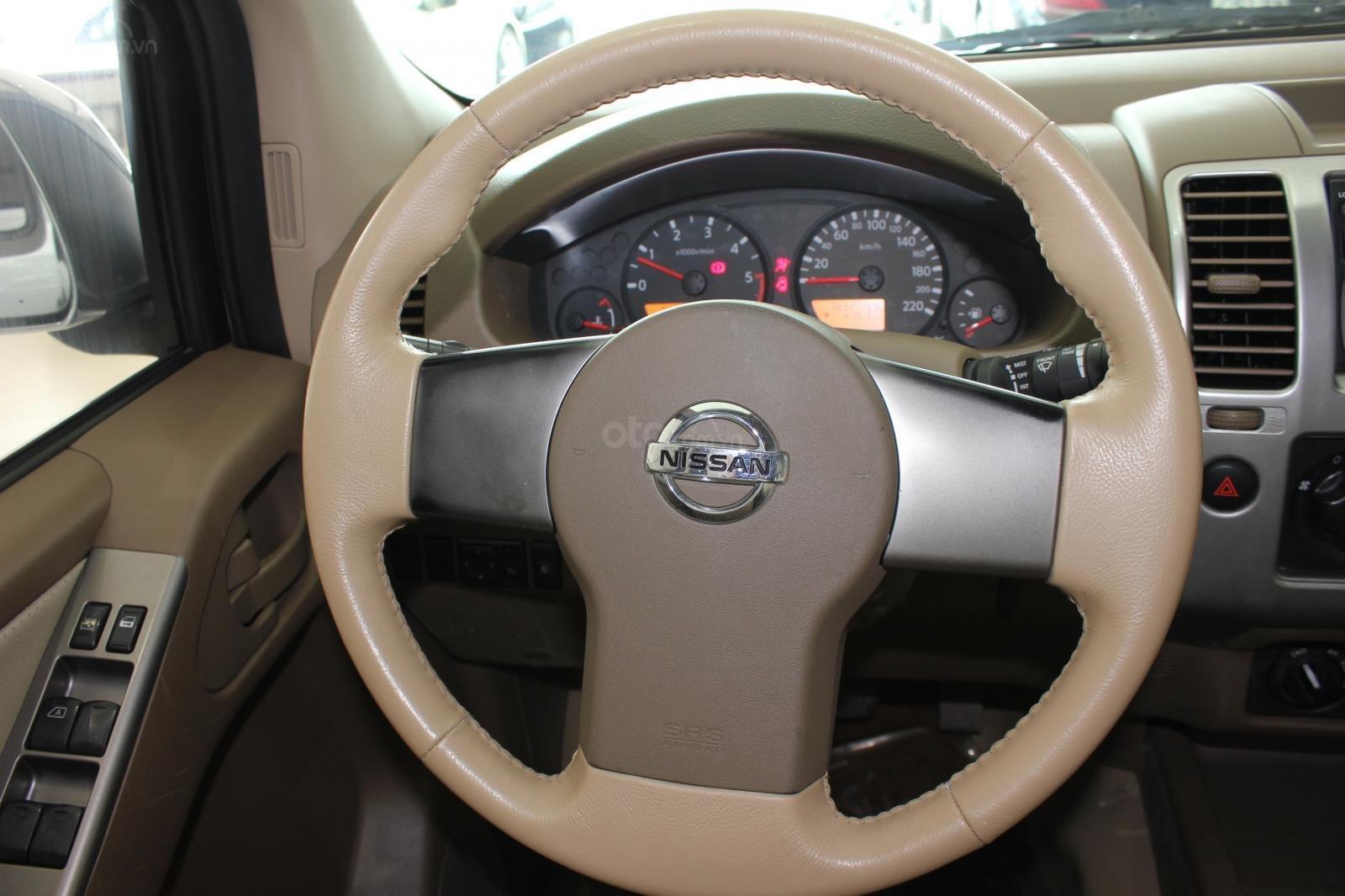 Cần bán Nissan Navara 2.5AT biển Sài Gòn nhập Thái đời 2013, màu xám (ghi), xe nhập (12)