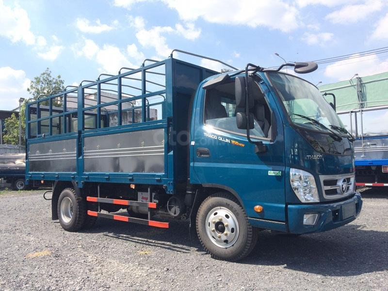 [Thaco Bình Dương] Xe Thaco Ollin 350 tải trọng 3,49 tấn, hỗ trợ trả góp, xe có sẵn tại Bình Dương. (1)