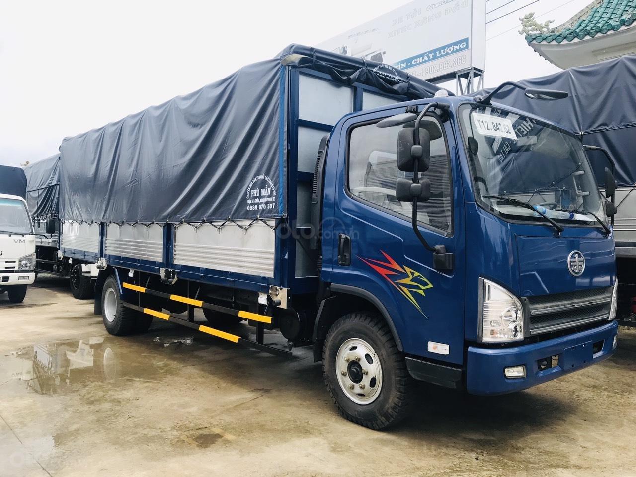 Xe tải FAW 7.3 tấn ga cơ, động cơ Hyundai thùng dài 6.2m, hỗ trợ trả góp 80% (1)
