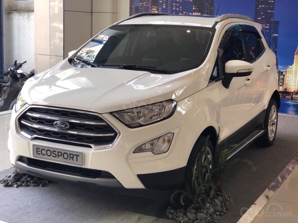 Bán ô tô Ford EcoSport năm 2019, màu trắng giá cạnh tranh (1)