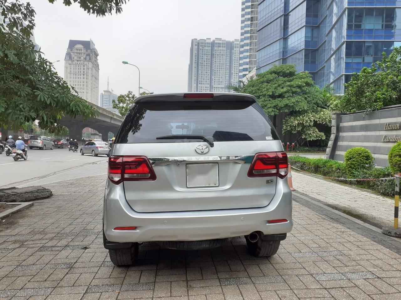 Bán Toyota Fortuner 2.5G sản xuất 2016, màu bạc (3)