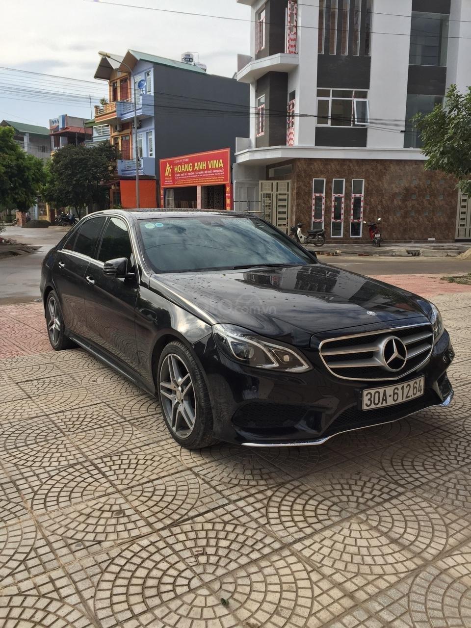 Bán xe Mercedes E250 AMG màu đen, nội thất kem liên hệ 0903287342 (1)