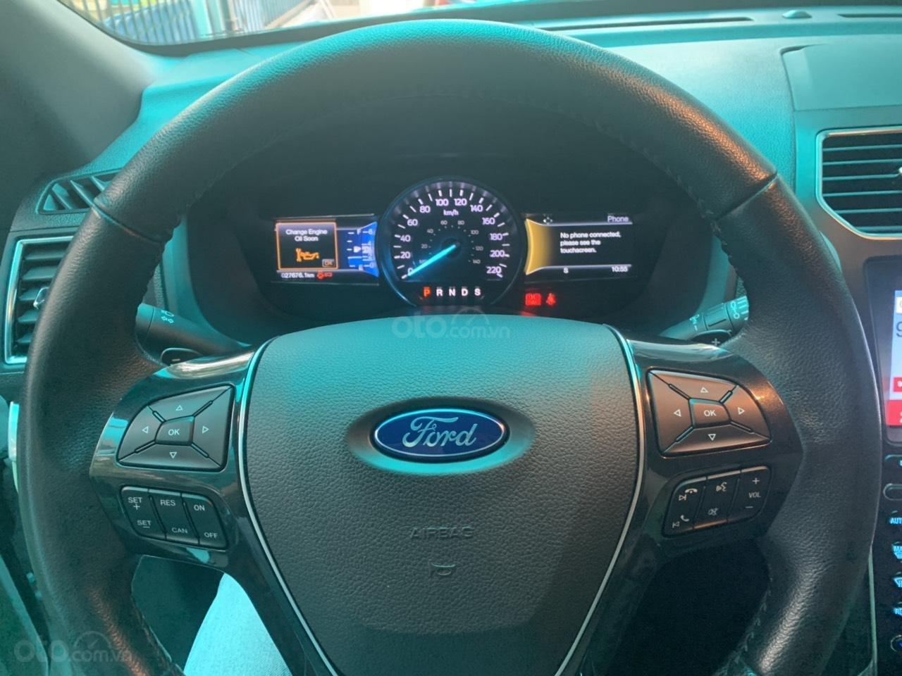 Ford Explorer 3/2017, BSTP chạy 27,000km, full đồ (4)