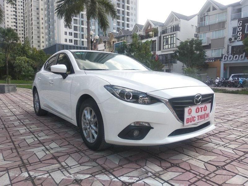 Bán Mazda 3 1.5AT đời 2017, màu trắng như mới, giá tốt (2)