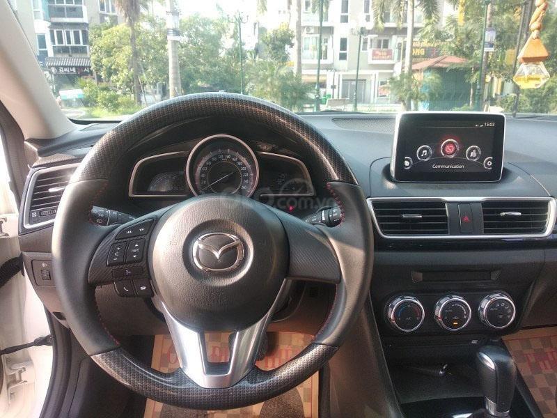 Bán Mazda 3 1.5AT đời 2017, màu trắng như mới, giá tốt (11)