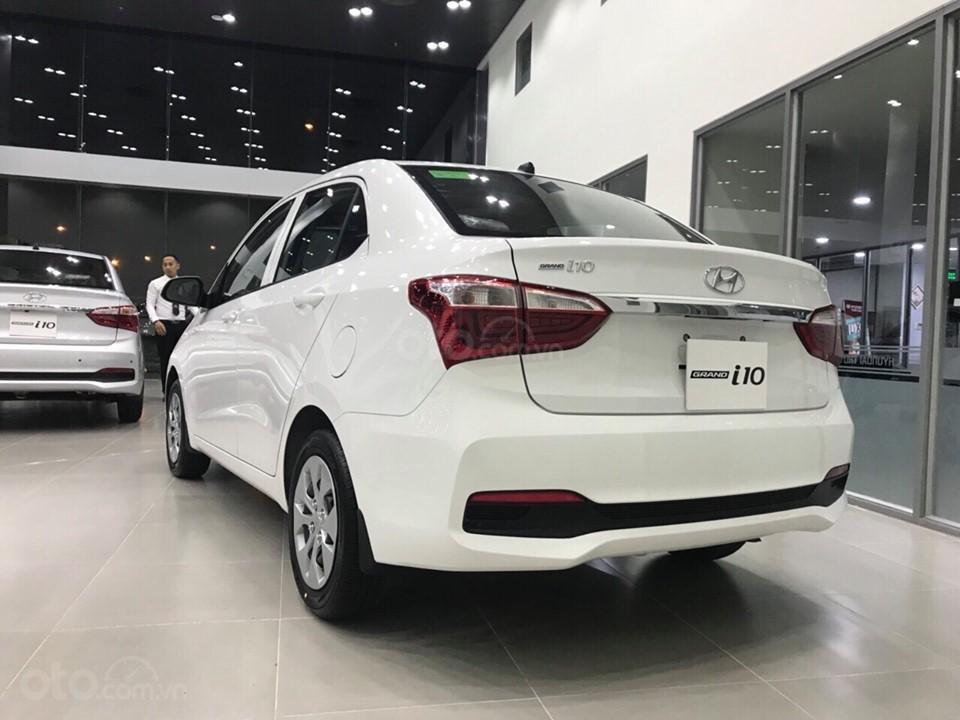 Hyundai Grand I10 sedan 1.2 AT số tự động, hỗ trợ Grab, taxi, trả trước chỉ từ 100 triệu, liên hệ 0931676801 (6)