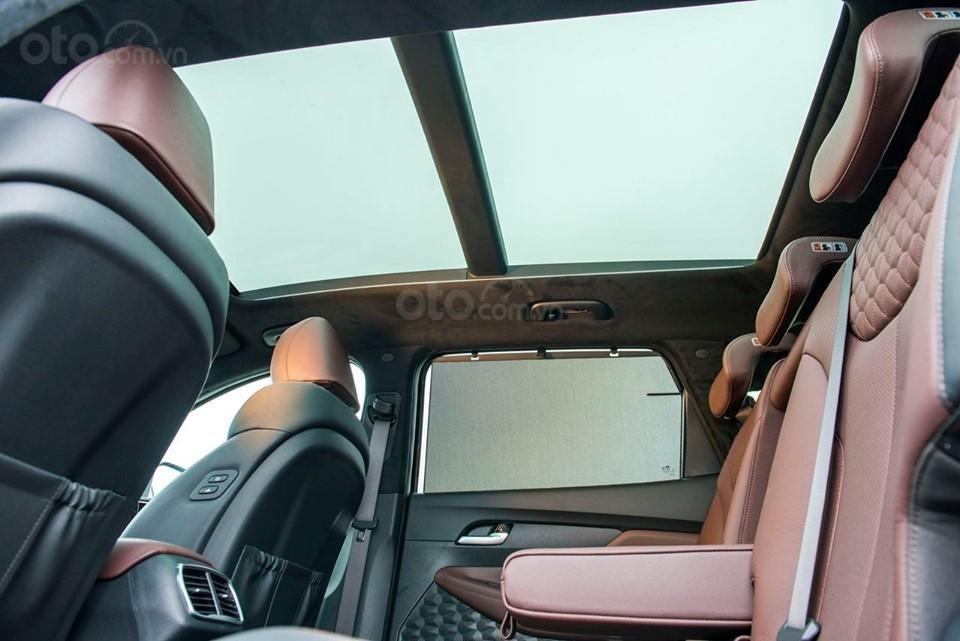 Hyundai Santa Fe 2019, giảm tiền mặt + tặng phụ kiện 50tr, hỗ trợ vay 85%, lãi suất thấp, giao xe tận nơi (4)