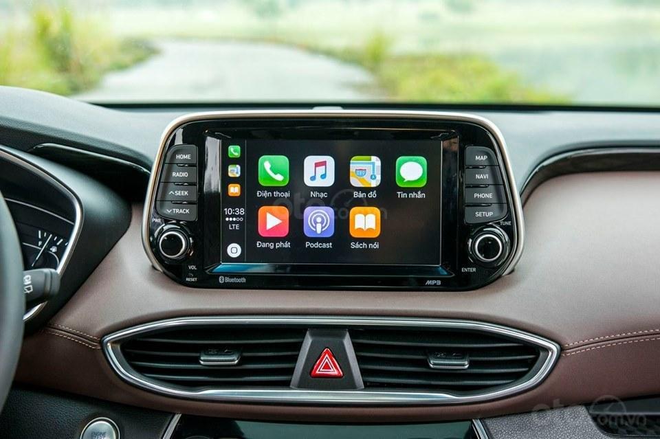 Hyundai Santa Fe 2019, giảm tiền mặt + tặng phụ kiện 50tr, hỗ trợ vay 85%, lãi suất thấp, giao xe tận nơi (5)