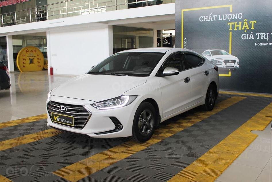 Hyundai Elantra 1.6MT 2016, có bảo hành và trả góp 70%, bao test (1)