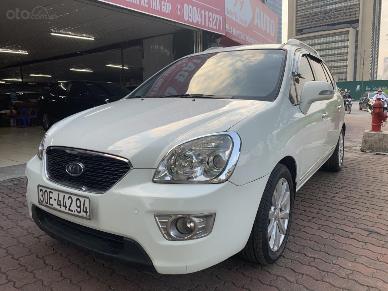 Bán xe Kia Carens 2.0AT năm 2011, màu trắng (1)