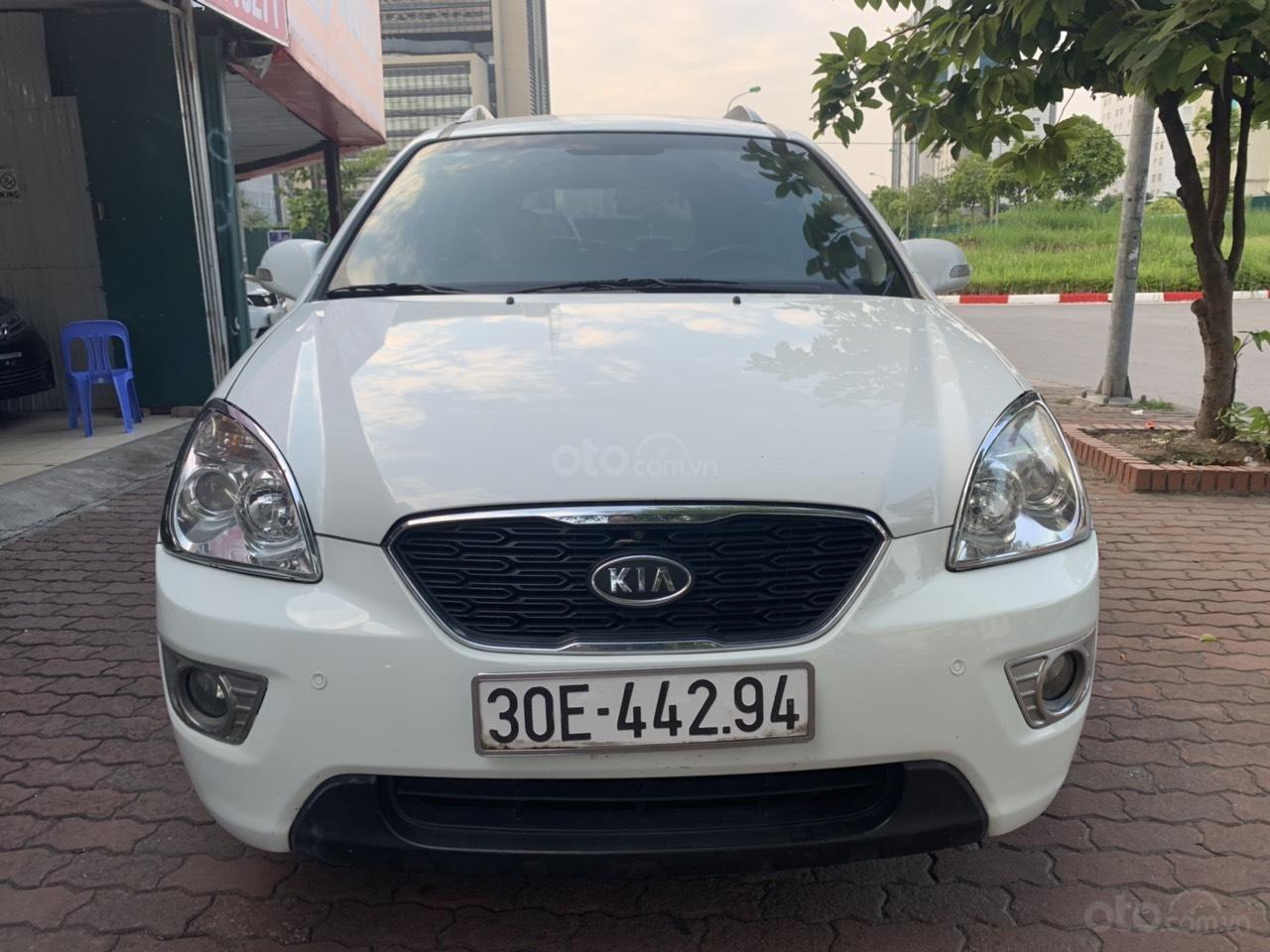 Bán xe Kia Carens 2.0AT năm 2011, màu trắng (3)