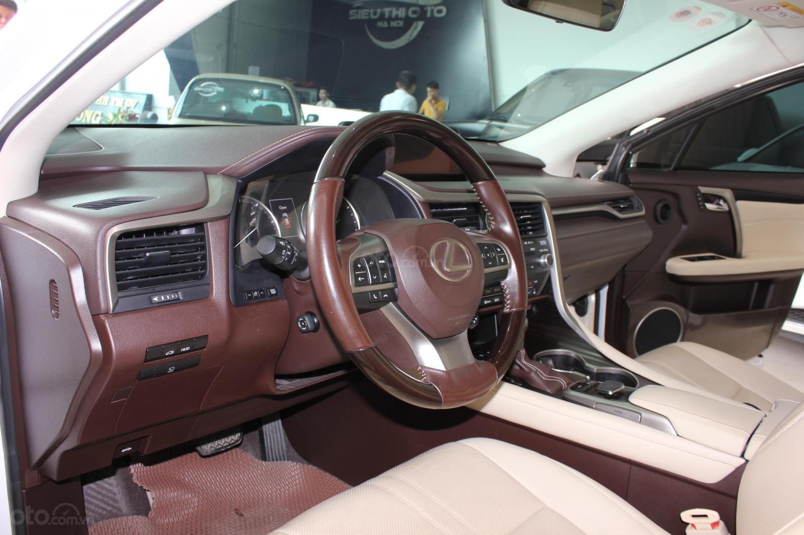 Bán Lexus RX 350 đời 2016, màu trắng, xe nhập (11)
