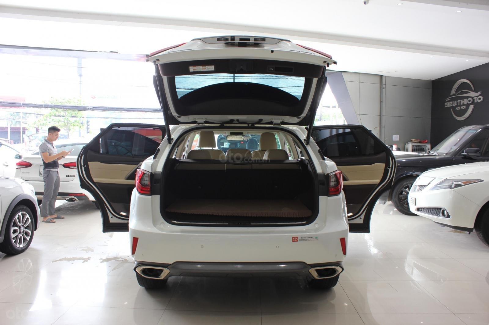 Bán Lexus RX 350 đời 2016, màu trắng, xe nhập (16)
