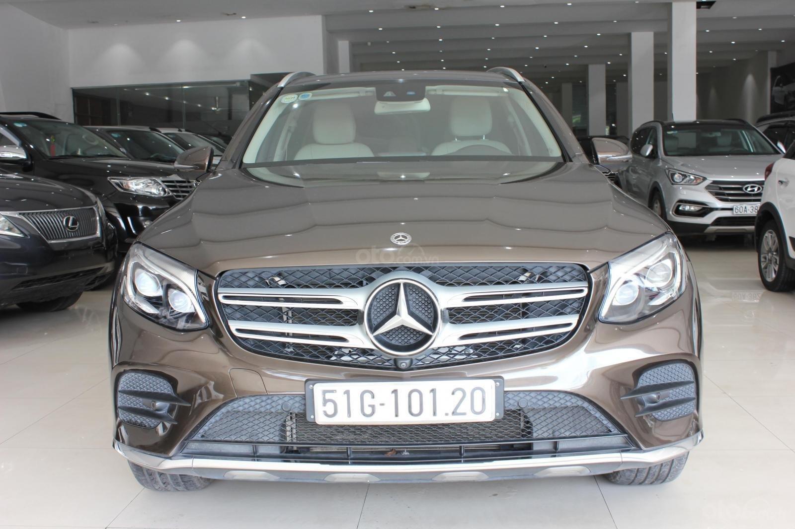Bán ô tô Mercedes 300 năm sản xuất 2017, màu nâu (1)