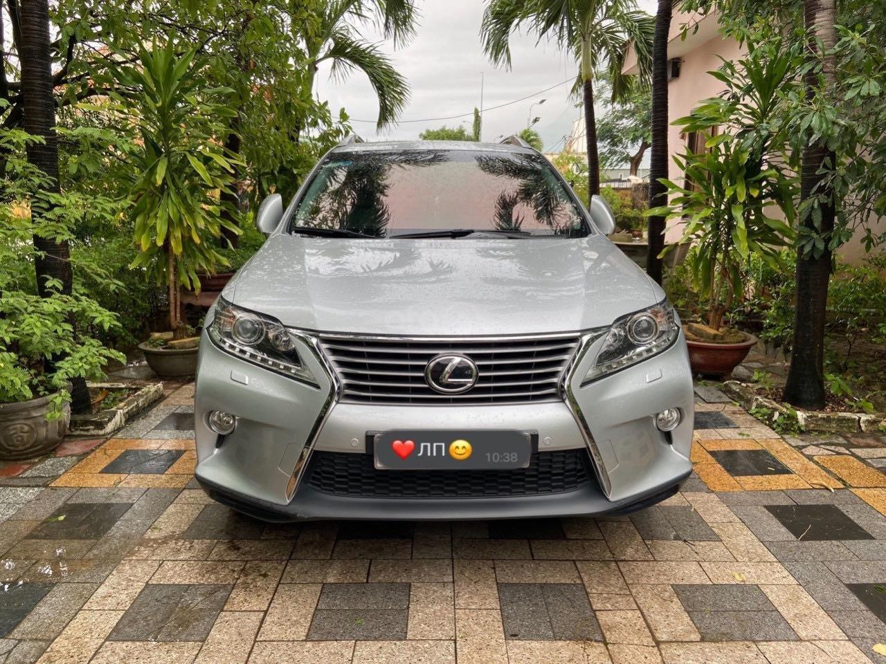 Cần bán lại xe Lexus RX năm 2015, màu bạc, xe nhập khẩu, đi giữ gìn, mới 99,9% bao test (2)