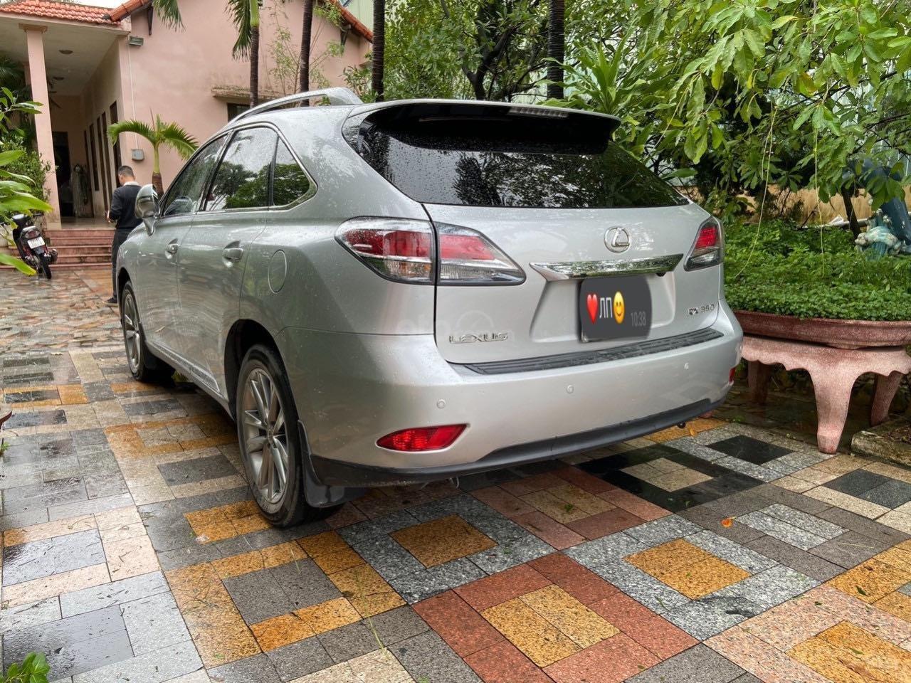Cần bán lại xe Lexus RX năm 2015, màu bạc, xe nhập khẩu, đi giữ gìn, mới 99,9% bao test (3)