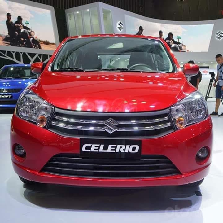 Bán xe Suzuki Celerio, màu đỏ, nhập khẩu, giá tốt và nhiều khuyến mại hấp dẫn  (1)