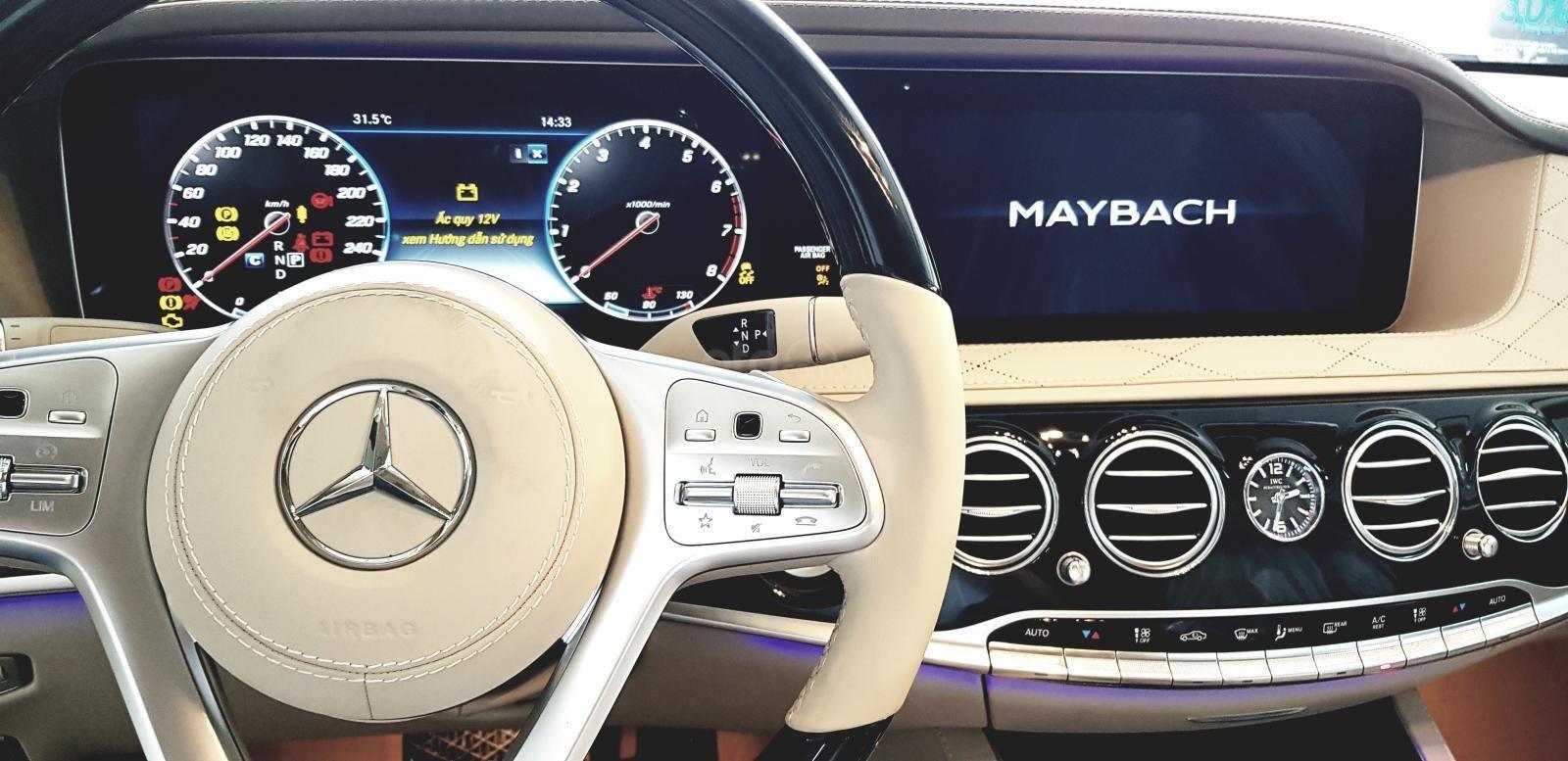 Mercedes-Benz Maybach S450 đời 2019 nhập khẩu, xe giao ngay khuyến mãi lớn, liên hệ 0913332288 (4)