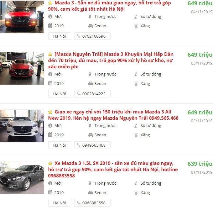 Ra mắt thế hệ mới, Mazda 3 cũ giảm sâu để xả kho a3
