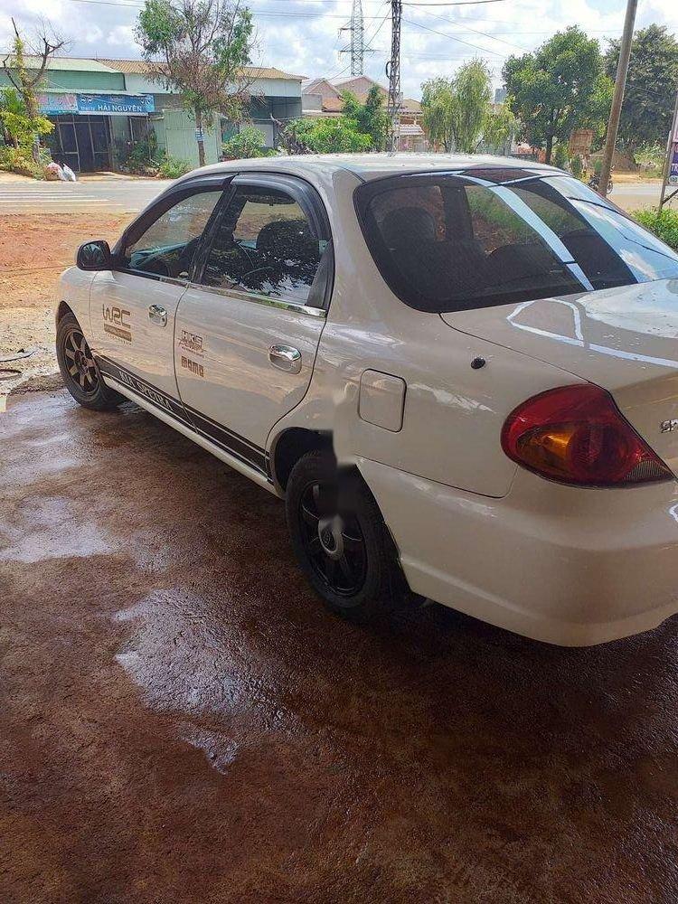 Bán xe Kia Spectra sản xuất năm 2004, màu trắng (3)