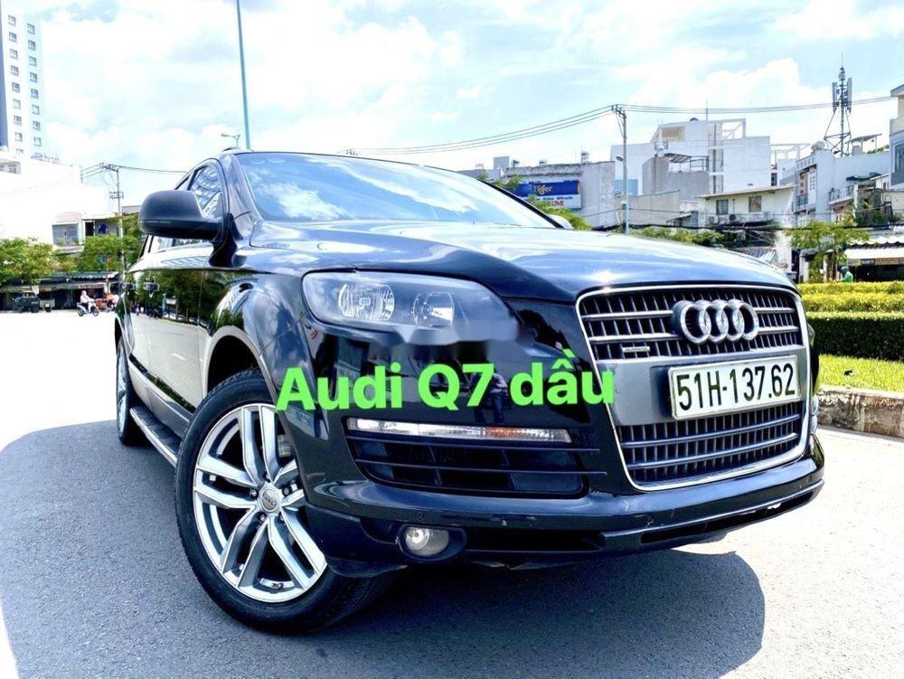 Cần bán xe Audi Q7 CDI đời 2009, màu đen, xe nhập số tự động, giá tốt (2)