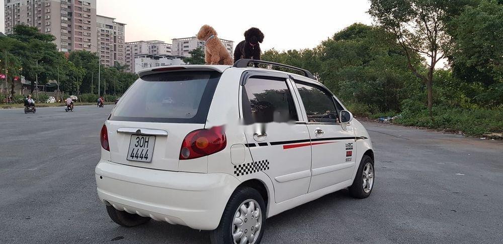 Bán xe Daewoo Matiz đời 2007, màu trắng xe nguyên bản (8)