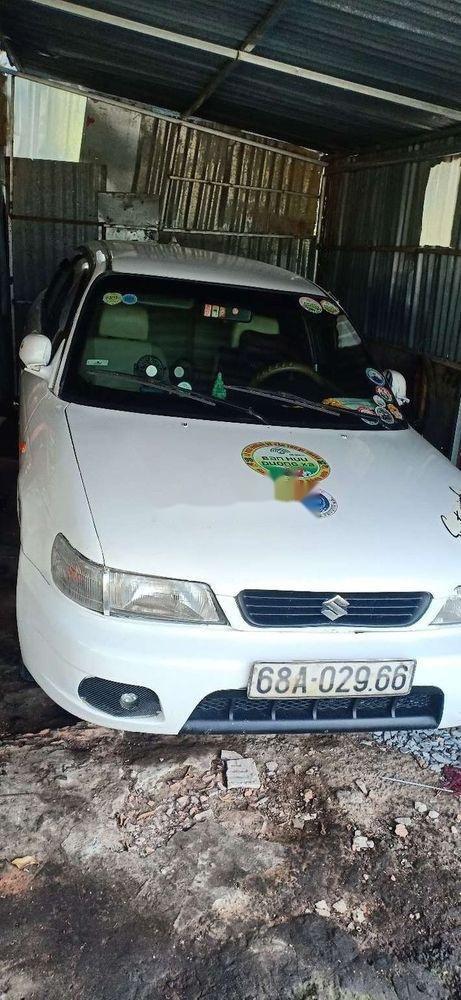 Bán Suzuki Balenno đời 2004, màu trắng, nhập khẩu nguyên chiếc xe gia đình, giá tốt (2)