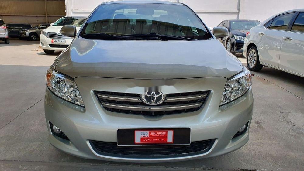 Cần bán gấp Toyota Corolla Altis 1.8AT sx 2009, màu bạc (6)