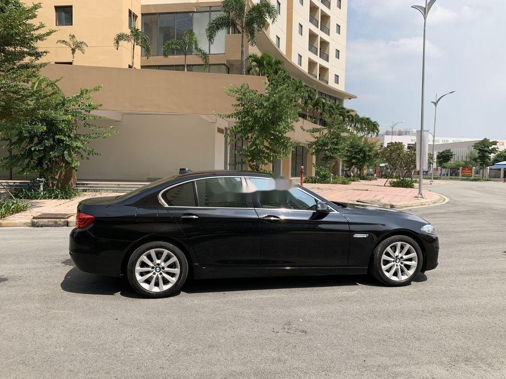 Bán BMW 5 Series 520i Facelift  năm 2016, màu đen, nhập khẩu (6)